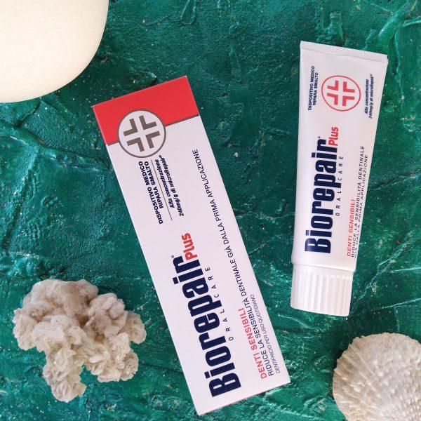 Зубная паста Biorepair plus Sensitive Teeth (Биорипеа для чувствительных зубов), 75 мл