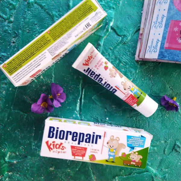 Зубная пастаBioRepair Kids (Детская зубная паста Биорипеа 0-6 лет клубничная)