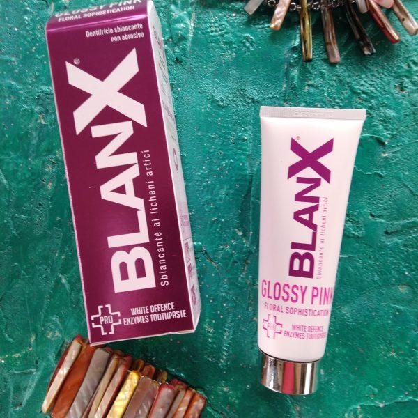 Зубная паста Blanx med glossy pink