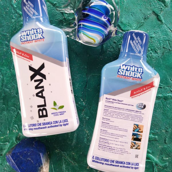 Ополаскиватель Blanx White Shock Blue formula Mouthwash