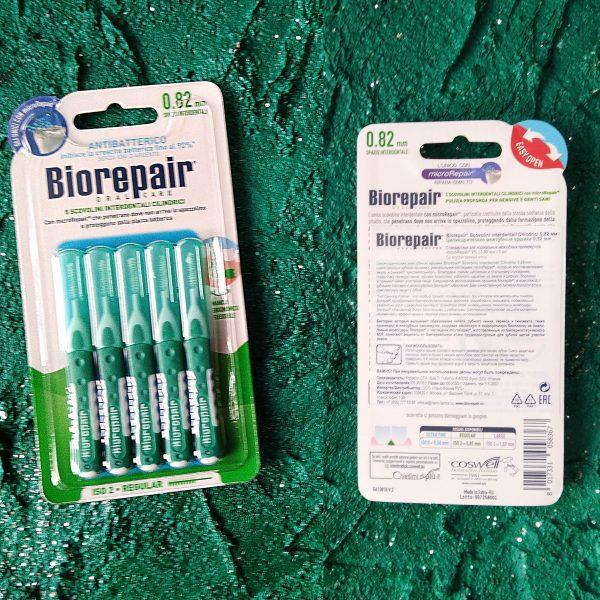 Ершики зубные BioRepair Scovolini Interdentali Cilindrici (Цилиндрические межзубные ершики 0,82 мм)
