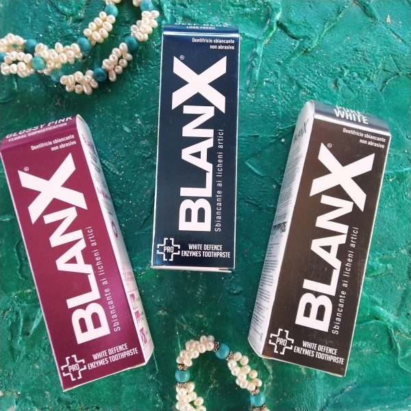 BlanX зубные пасты для бережного отбеливания