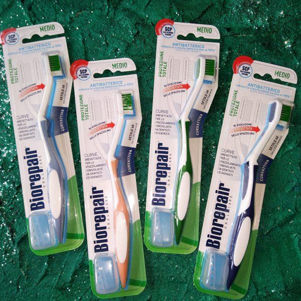 4 цвета зубных щеток Кёрв изогнутая для комплексной защиты