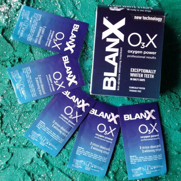 Отбеливающие полоски Blanx OзX (Бланкс Сила кислорода), 10 шт