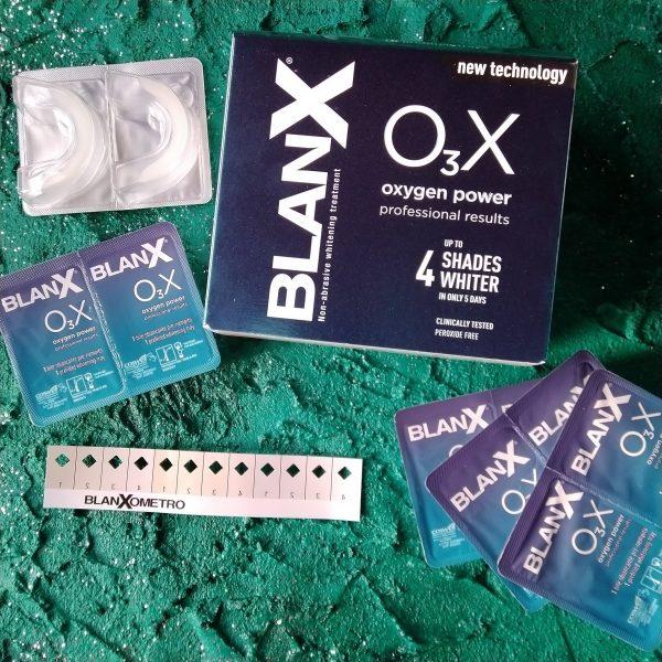 Отбеливающие капы Blanx OзX (Бланкс Сила кислорода капы), 10 шт