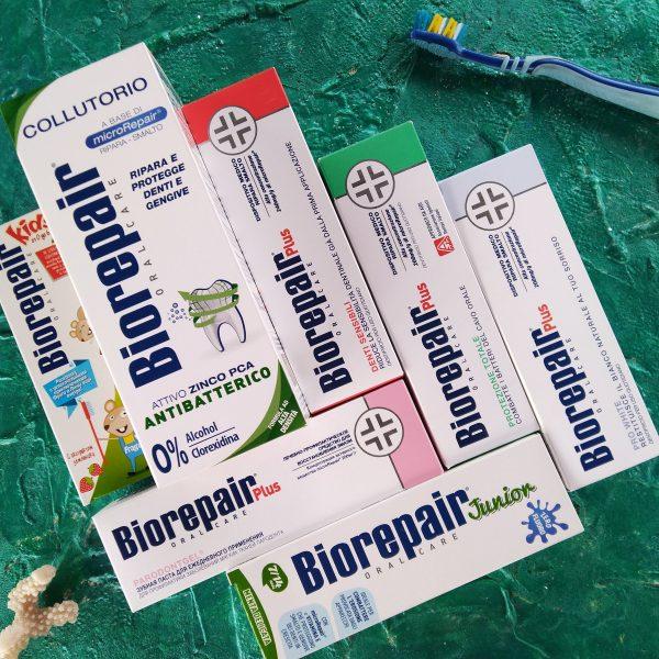 Biorepair восстанавливающие зубные пасты, нити, щетки